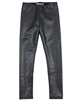 Boboli Girls Charcoal Metallic Leggings