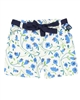 Boboli Girls Viscose Shorts in Floral Print