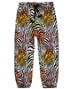 Boboli Girls Viscose Pants in Zebra Print
