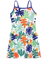 Boboli Girls Printed Jersey Beach Dress
