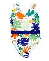 Boboli Girls One-piece Swimsuit with Belt