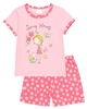 Boboli Girls T-shirt and Daisy Print Shorts Pyjamas Set