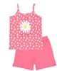 Boboli Girls Daisy Print Tank and Shorts Pyjamas Set