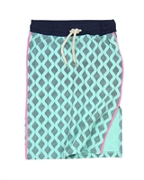 B.Nosy Knee Length Skirt in Aqua Green