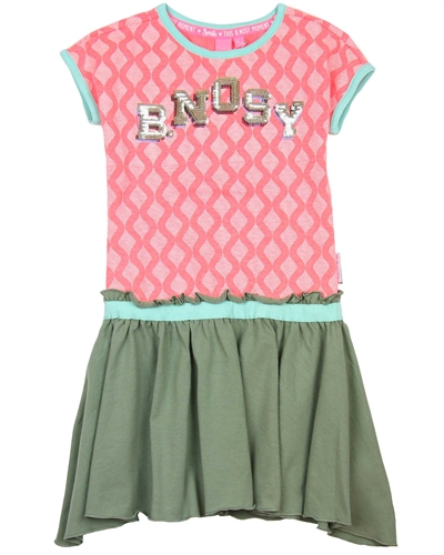 B.Nosy Two Colour-way Dress