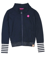 B.Nosy Sporty Cardigan in Navy
