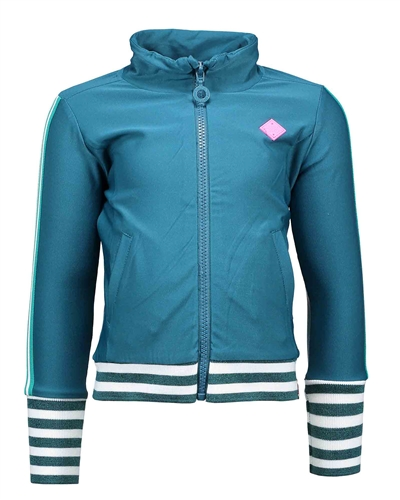 B.Nosy Sporty Cardigan in Turquoise