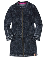 B.Nosy Denim Dress in Acid Wash