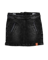 B.Nosy Denim Mini Skirt in Acid Wash