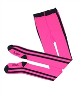 B.Nosy Tights with Side Stripes in Pink