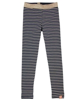 B.Nosy Striped Leggings with Lurex