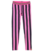 B.Nosy Striped Fleece Leggings