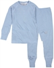 COCCOLI Boys' Rib Jersey Pyjamas Set in Blue