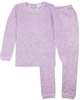 COCCOLI Girls' Pyjamas Set in Spot Print Lavender