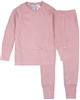 COCCOLI Girls' Waffle Pyjamas Set in Rose