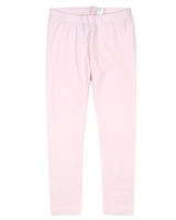 COCCOLI Girls' Basic Leggings in Pale Pink