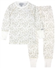 COCCOLI Girls' Gold Foil Spot Pyjamas Set in Cream