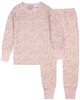 COCCOLI Girls' Gold Foil Spot Pyjamas Set in Pink