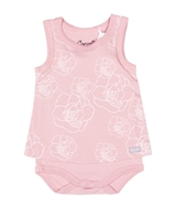 COCCOLI Baby Girls Romper in Floral Print