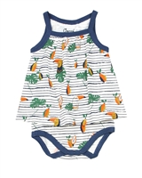 COCCOLI Baby Girls Romper in Toucans Print