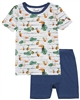 COCCOLI Boys Shorts Pyjamas Set in Toucans Print