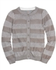 Creamie Girls Striped Knit Cardigan Celia