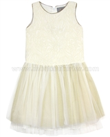 Creamie Girls Party Dress Daisy