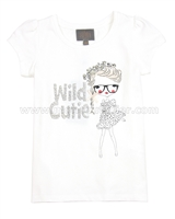 Creamie Girls T-shirt Bridgitte