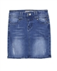 Creamie Girl's Straight Denim Skirt