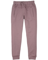 Creamie Girl's Sweatpants in Mauve