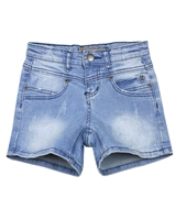 Creamie Girl's Denim Shorts in Distressed Look