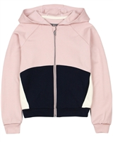 Creamie Girl's Colour-block Hooded Sweatshirt