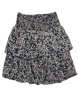 Creamie Girl's Skirt in Small Floral Print