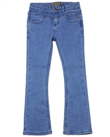 Creamie Girl's Flare Leg Denim Pants