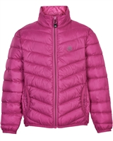 COLOR KIDS Boys' Transitional Quilted Jacket in Fuchsia