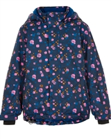 COLOR KIDS Boys' Ski Jacket in Circles Print