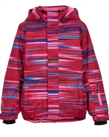 COLOR KIDS Boys' Ski Jacket in Abstract Stripes