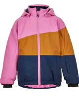 COLOR KIDS Boys' Colour-block Ski Jacket in Pink