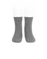 CONDOR Boys' Basic Short Socks in Grey