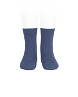 CONDOR Boys' Basic Short Socks in Denim