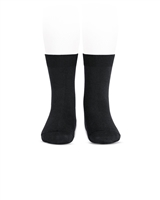 CONDOR Boys' Basic Short Socks in Black