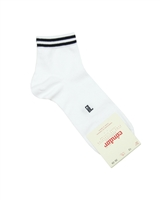 CONDOR Boys' Ankle Sport Socks with Black Stripes