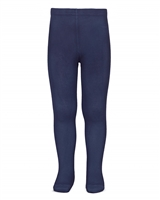 CONDOR Girls' Basic Tights in Navy