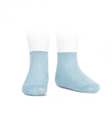 CONDOR Girls' Basic Ankle Socks in Light Turquoise