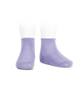 CONDOR Girls' Basic Ankle Socks in Light Purple