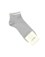 CONDOR Girls' Shiny Ankle Socks in Grey