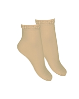 CONDOR Girls' Condorel.la Short Socks in Nude