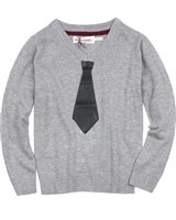 Deux par Deux Sweater Call Me Mister Gray