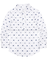 Deux par Deux Boys' Printed Shirt with Placket Aristo Kids