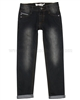 Deux par Deux Boys' Denim Pants Black Wild Side Story